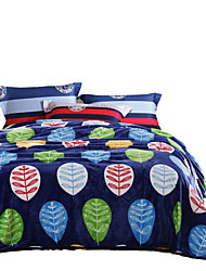 Фланель Разноцветный,Сплошная Цветочные / ботанический 100% полиэфир одеяла 200x230cm