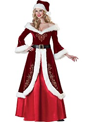Extravagant The queen's Christmas Costumes Women Christmas Cosplay Sexy Santasuit Costumes Women Christmas Party Dress