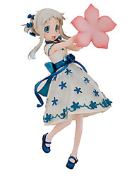 Cosplay PVC 18cm Anime Action Figures Model Toys Doll Toy We Still Do Not Know The Name Of The Flower We Saw That Day