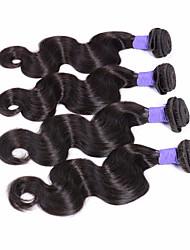 Peruvian Virgin Hair Body Wave Peruvian Remy Wet & Wavy Human Hair Extensions Hair Weave 4 bundles/Lot