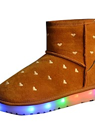 Women's Shoes Libo New Style Flashy Night Club Casual / Outdoor Comfort Fashion Snow Boots Black / Brown