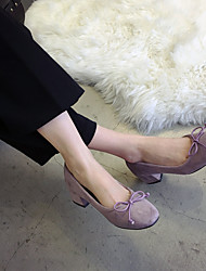Women's Heels Fall Comfort Synthetic Office & Career / Casual Low Heel Others Black / Coffee Others