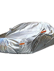 Automotive garments aluminum film sun clothing. Hafei car SUV car cover waterproof sunscreen insulation shade car cover