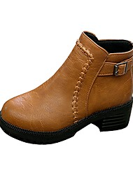 Women's Shoes Libo New Style Hot Sale Casual / Office Comfort Warm Fashion Boots Black / Brown