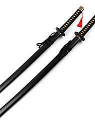Arma / Espada Inspirado por Fantasias Yukimura Chizuru Anime Acessórios de Cosplay Espada Preto Madeira Feminino