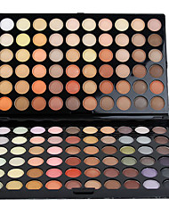 120 Lidschattenpalette Matt / Schimmer Lidschatten-Palette Cream Groß Alltag Make-up