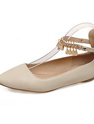 Women's Flats Spring / Summer / Fall Comfort Leatherette Wedding / Office & Career / Dress / Casual Flat Heel