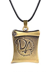 Necklace Non Stone Pendant Necklaces Jewelry Party / Daily Unique Design Alloy Coppery 1pc Gift