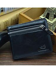 Men PU Casual Wallet