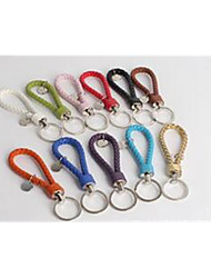 Leather Rope Car Key Buckle High-Grade Car Key Ring