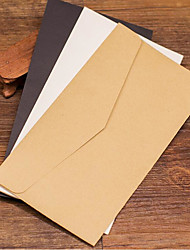 Retro Open Window Envelopes Kraft Paper Invitation Invitation
