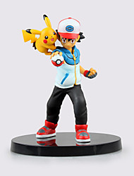 Pocket Monster Ash Ketchum PVC 15cm Figures Anime Action Jouets modèle Doll Toy