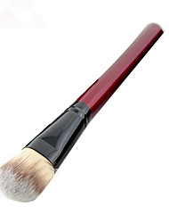 1 Foundation Brush Nylon Plastic Face