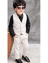 Boy's Formal Solid Pants / Suit & BlazerPolyester Spring / Fall Black / Blue / White