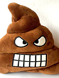 Travel Pillow Travel Rest Cotton  Emoji Smiley Emotion Round Plush Cushion Pillow 20*20