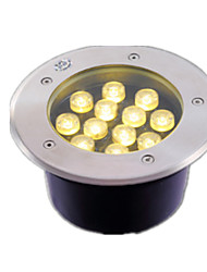 12W Stainless steel surface waterproof LED buried lights