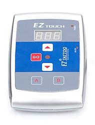 Полный комплект татуировки 1 х Роторная тату-машинка для контура и заливки 1.0 татуировки машины Светодиодный источник питанияЧернила