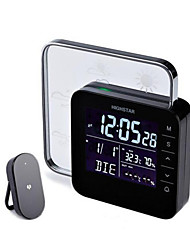 Weather Forecast Instrument Temperature And Humidity Fashion Alarm Clock