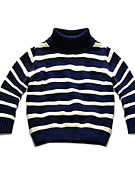 Boy's Casual/Daily Striped Sweater & CardiganCotton Winter / Fall Blue