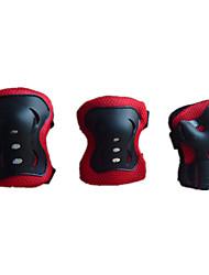 engrenagem almofadas armguard cotovelo espessamento joelho 6 peça