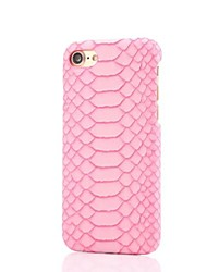 Para Funda iPhone 7 / Funda iPhone 6 / Funda iPhone 5 IMD Funda Cubierta Trasera Funda Líneas / Olas Dura Policarbonato AppleiPhone 7