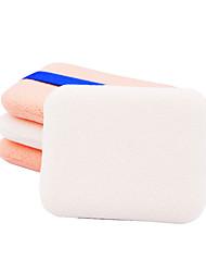 Esponja de Pó de Arroz/Esponja de Maquiagem 1 8*8*2.5 Tamanho para viagem Branco / Natural