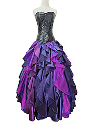 Cosplay Costumes / Party Costume / Masquerade Princess / Mermaid Tail / Fairytale Movie Cosplay Purple Solid / Patchwork DressHalloween /