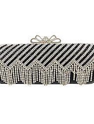 Women Diamonds Tassel Clutch/Formal / Event/Party / Wedding Evening Bag/Purse/Handbags/Eveningbags/Glass/Stone/Tassel