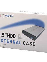 USB3.0 внешний 3,5-дюймовый мобильный диск коробка алюминиевый корпус настольного компьютера жесткий USB3.0 HDD