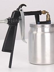 pq - 1 un pistolet à peinture / type de pot sous le canon