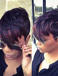 Short Synthetic Wigs for Black Women Short Straight Synthetic Wigs Female Synthetic Hair Wig