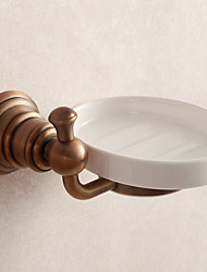 Bathroom Accessories Solid Antique Brass Material  Soap Dish