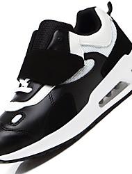 Women's Sneakers Spring / Summer / Fall / Winter  PU Outdoor / Athletic /  Hook & Loop Black / Pink / WhiteTennis /