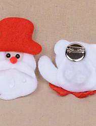 Christmas Light Cartoon Christmas Flannel Festival Decorations Bar Brooch