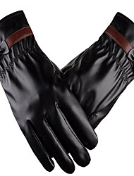 gants en cuir de simulation (section d'arc)