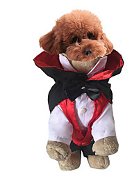 Dog Costume Red Dog Clothes Winter / Spring/Fall Angel & Devil Cosplay