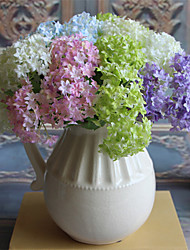 3PCS Hydrangea  Artificial Flower Home Decoration