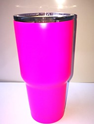 Pink Hot Sale Rambler Coolers Tumbler Stainless Steel Cup Coffee Mug 30OZ