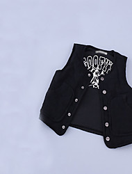 Boy's Casual/Daily Solid VestCotton Spring / Fall Black / Gray