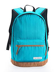 Multicolor Girl Women School Shoulder Backpack Blue / Green / Red / Black / Fuchsia
