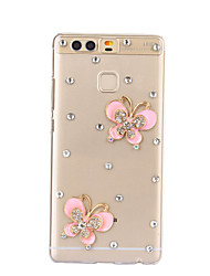 DIY Pink Butterfly Pattern PC Hard Case for Huawei P9 Plus LITE P8 LITE Honor 8 7 6 6Plus 5C 5X 4X 4C 4A Mate 9 8 7