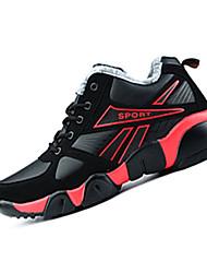 Femme-Sport-Bleu / Jaune / Noir et rouge-Talon Plat-Confort-Chaussures d'Athlétisme-Polyuréthane