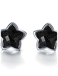 Earring / Stud Earrings Jewelry Women Halloween / Wedding / Party / Daily / Casual / Sports Sterling Silver 1 pair Silver