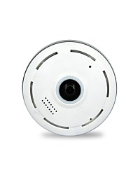 960P Cylindric Network HD 360 Degree Fisheye P2P Wifi IP Camera with Home Security