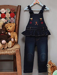 Girls' Casual/Daily Solid Jeans-Cotton Fall Winter