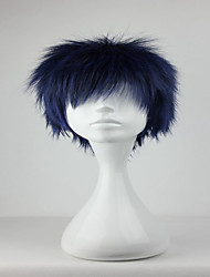 Promotion Kuroko no Basuke Aomine Daiki  30cm Short Blue Black Fashion Cosplay  Wig Party Cosume Wigs