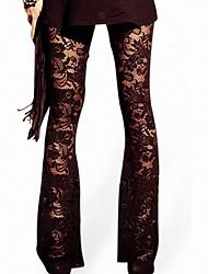 Femme Couture en Dentelle Legging,Polyester Autres