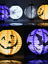 1 Personal Computer Halloween Halloween Decorations Paper Halloween Pumpkin Lantern Lantern Props Outdoor Party Supplies