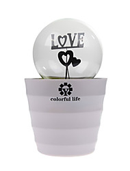 Romatic Bedroom Lamp Bulb LED Romantic Plant Pot Rechargeable Lamp Night Light for Kids gifts