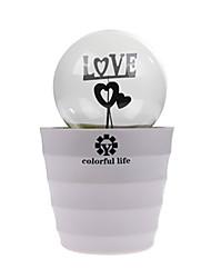 ampoule de la lampe de chambre romatic conduit romantique pot lampe rechargeable lumière de nuit pour les cadeaux d'enfants